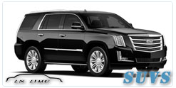 SUV for hire in Dallas