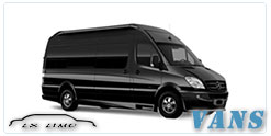 Dallas Luxury Van service