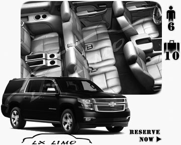 SUV Suburban for hire in Dallas
