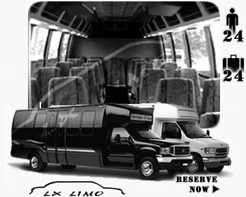 Bus for airport transfers in Dallas, TX
