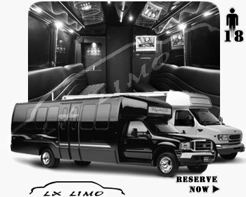 Dallas Party Bus party Bus | 18 passenger PartyBus in Dallas